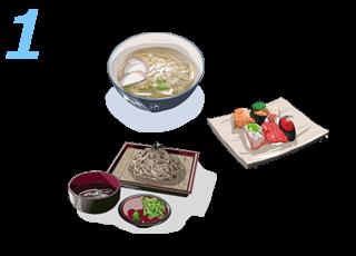 和食など油分の少ない食事を腹6〜7分目までにする。