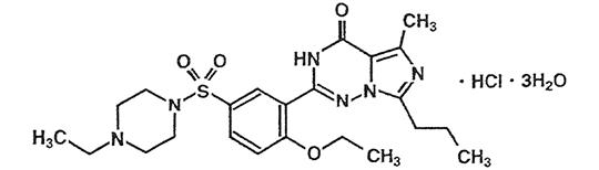 レビトラ化学構造式