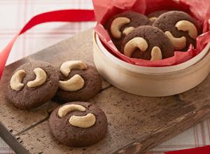 カシューナッツのココアクッキー