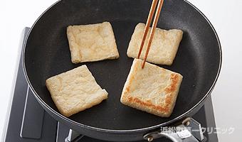 オーブントースターで5分ほど焼く