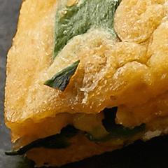 豚肉とキムチのチーズチヂミ