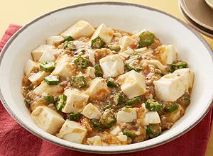 オクラのマーボー豆腐