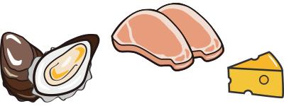 亜鉛豊富な食材