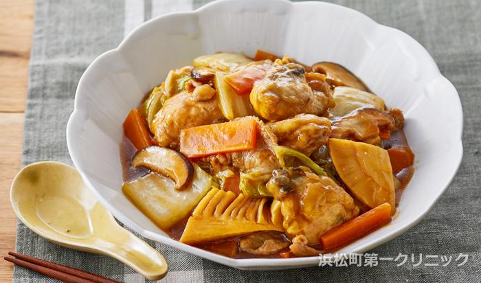 牡蠣の八宝菜