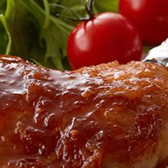 チキンのジンジャーママレードソース
