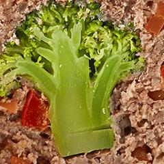 たっぷり野菜のミートローフ