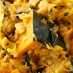 南瓜とひじきの柚子胡椒サラダ